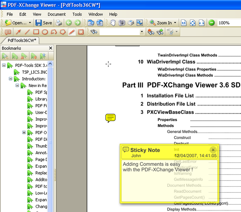 screenshot PDF-XChange Viewer 2.5.194 PDF 1